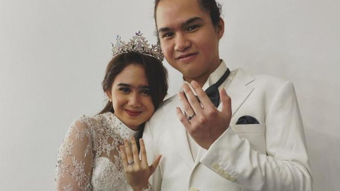 Tissa Biani dan Dul Jaelani.