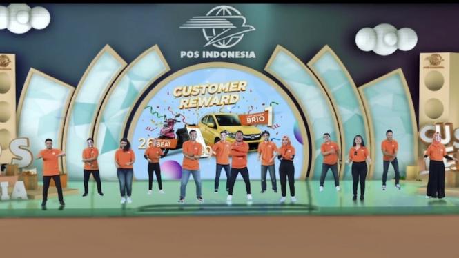Program Customer Reward Pos Indonesia.