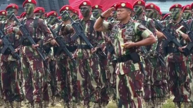 VIVA Militer: Mayjen TNI I Nyoman Cantiasa saat masih menjadi Danjen Kopassus