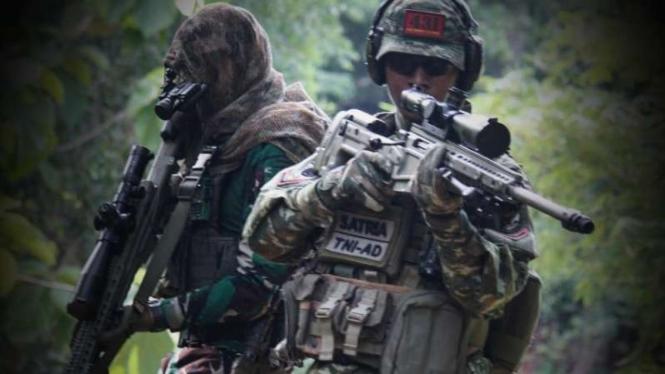 VIVA Militer: Pasukan Yonif Para Raider 431/SSP Kariango.