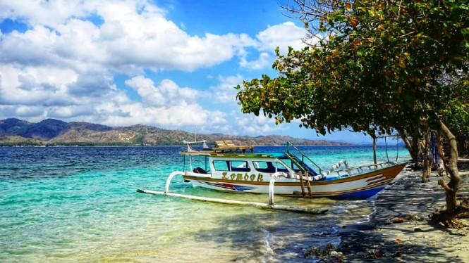 Pesona pulau Gili Tangkong, Lombok