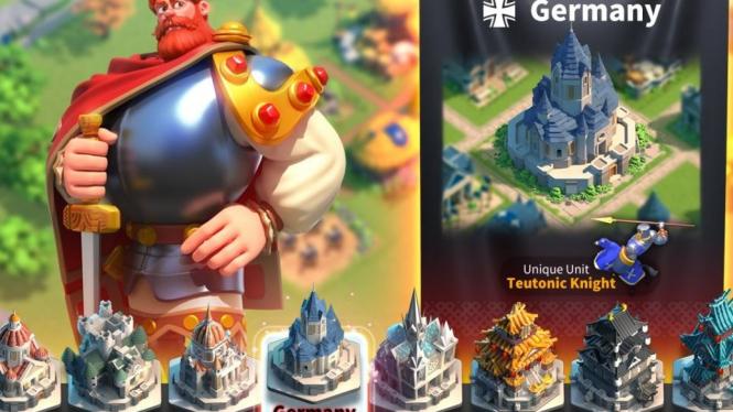 Tips dan Cara Main Game Rise of Kingdoms
