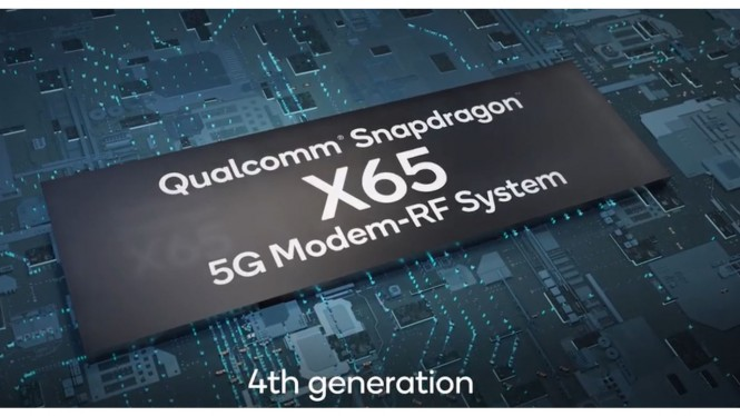 Qualcomm Snapdragon X65 5G Modem-RF system.