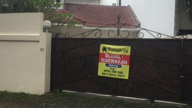 Rumah orang tua Dino Patti Djalal yang tiba-tiba berubah kepemilikan dan dijual