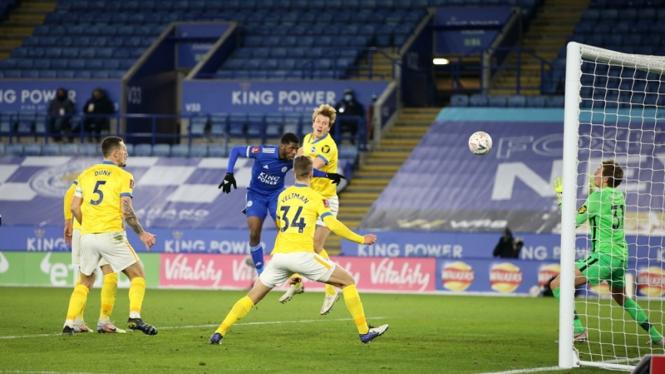 Pertandingan Leicester City vs Brighton