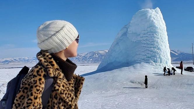 Gunung es mini.