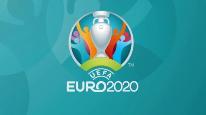 Logo Piala Eropa 2020.