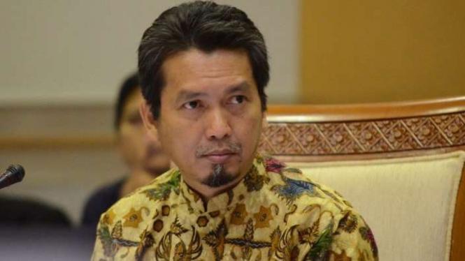 Anggota Komisi I DPR dari Fraksi Partai Keadilan Sejahtera, Al Muzzammil Yusuf.