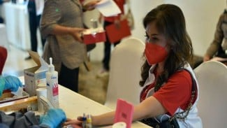 PMI gelar kegiatan donor darah