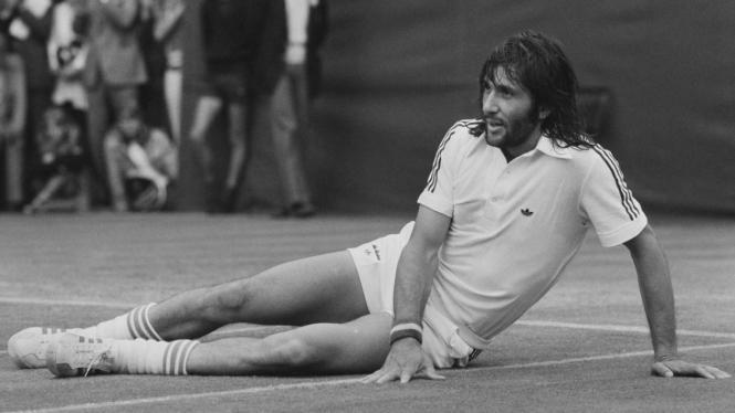 Legenda tenis Rumania, Ilie Nastase