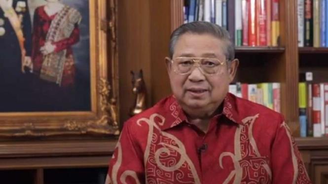 SBY di perayaan Imlek 2021 secara virtual