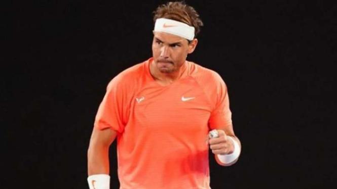 Petenis asal Spanyol, Rafael Nadal.