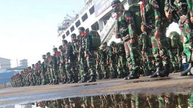 VIVA Militer: Prajurit Yonif Raider 400/Banteng Raider