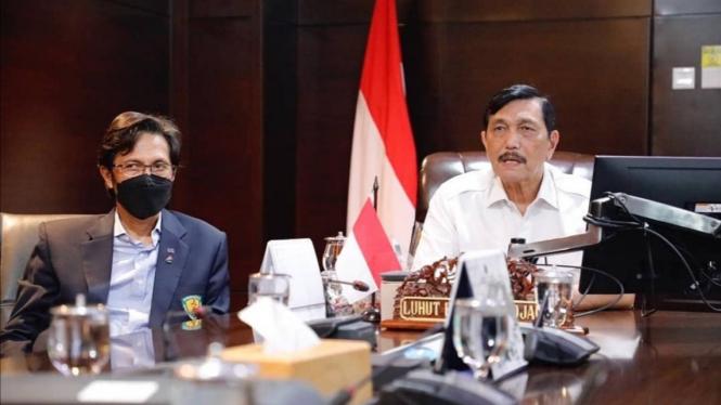 Ketua Umum PB PASI, Luhut Binsar Pandjaitan.