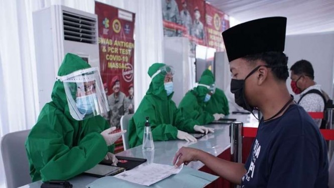 Rapid test antigen di Kecamatan Bojong Gede, Kabupaten Bogor