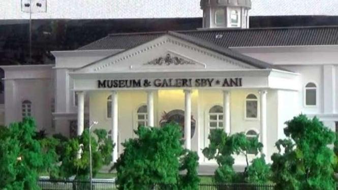 Miniatur Museum galeri SBY-Ani