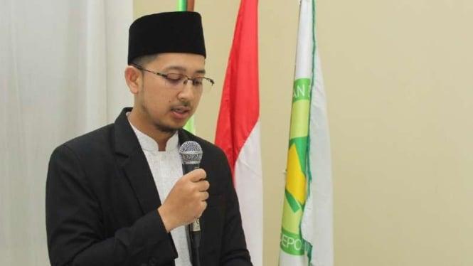 Muhammad Yusron Ash-Shidqi, Direktur Eksekutif Institut Hasyim Muzadi yang juga putra bungsu mendiang ketua umum Nahdlatul Ulama Hasyim Muzadi