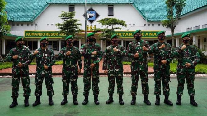 VIVA Militer: Danrem 061/Surya Kencana usai memimpin Sertijab Kasrem baru