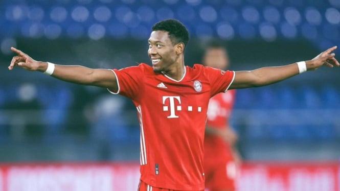 Bek Bayern Munich, David Alaba.
