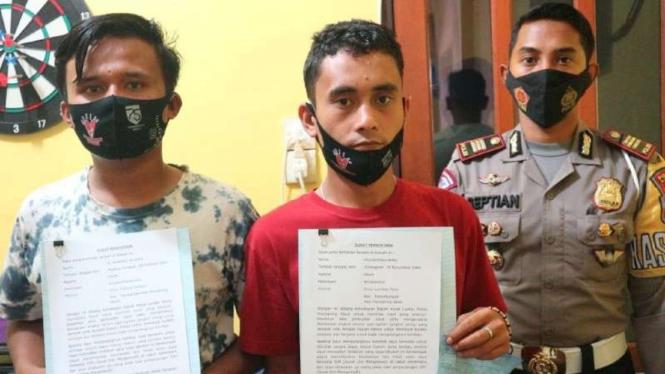 Sopir 'angkot oleng' diamankan Polisi.