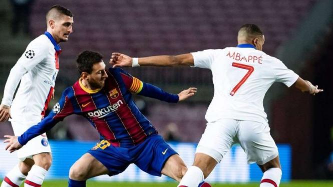 Lionel Messi vs Kylian Mbappe