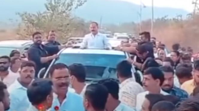 Bos preman di India bebas penjara dan dijemput mobil antipeluru