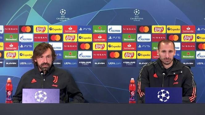 Konferensi Pers jelang Juventus melawan FC Porto