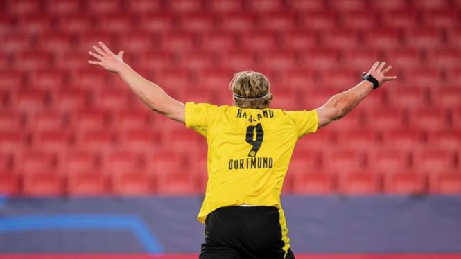 Striker Borussia Dortmund, Erling Braut Haaland