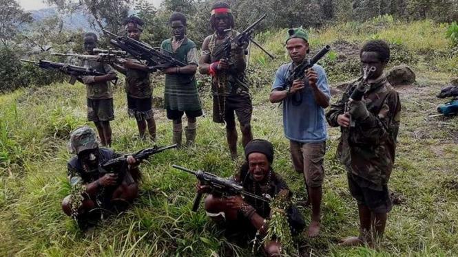 VIVA Militer: Kelompok pemberontak Organisasi Papua Merdeka (OPM)