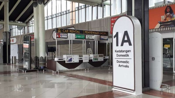 Terminal 1 Kedatangan Bandara Soekarno-Hatta Tangerang