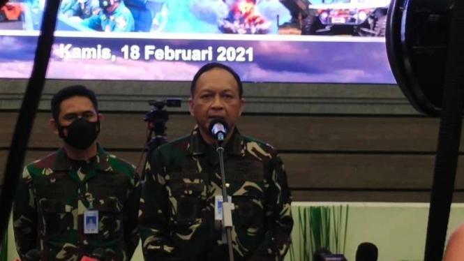 VIVA Militer: Kepala Staf Angkatan Udara (KSAU) Marsekal Fadjar Prasetyp