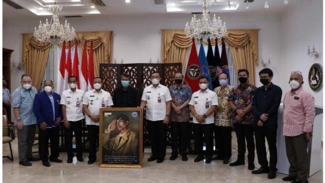 Jajaran Lembaga Kajian Nawacita (LKN) dan Badiklat Kementerian Pertahanan.