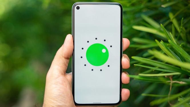 Ilustrasi Android 12