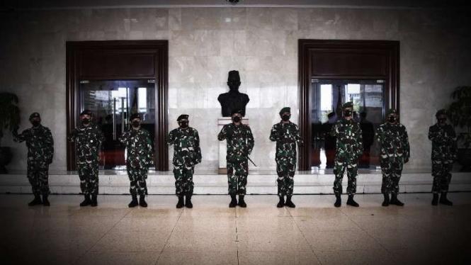 VIVA Militer: Kenaikan pangkat Mabes TNI.