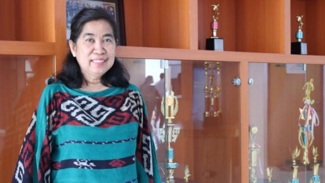 Dekan FK Unpatti Ambon dr Bertha J.Que (antara)