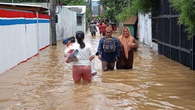 Banjir di Kembangan, Jakarta Barat