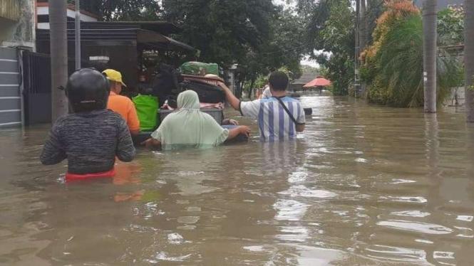 Banjir di Tangerang