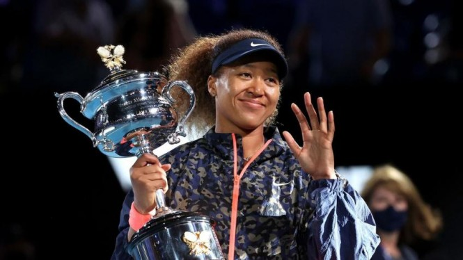 Naomi Osaka juara Australia Open 2021.