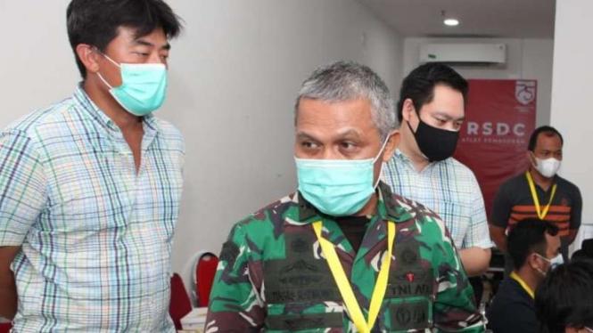 Koordinator RSDC Wisma Atlet, Mayjen TNI Tugas Ratmono