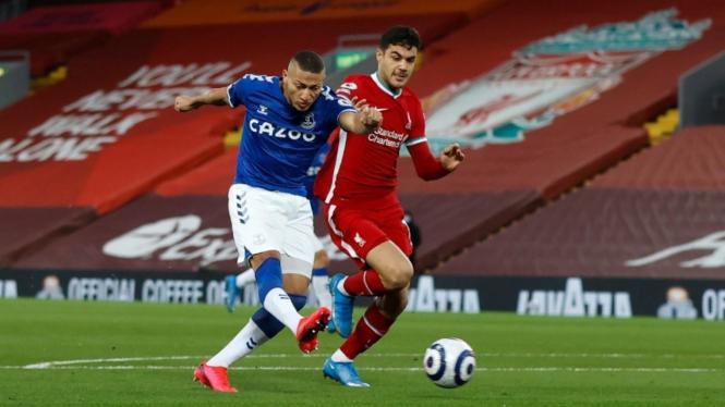Duel Liverpool vs Everton.