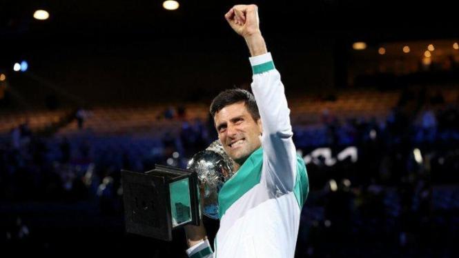 Novak Djokovic menjuarai Australia Open 2021