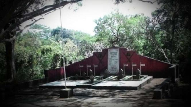 VIVA Militer: Makam pejuang Kusuma Bantala.