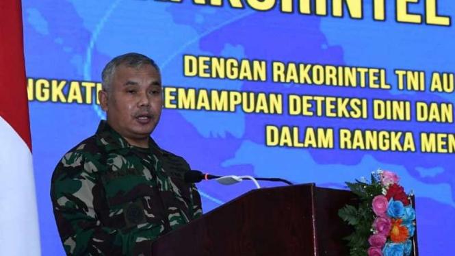 VIVA Militer: Asintel KSAU buka Rakor Intelijen TNI AU Tahun 2021