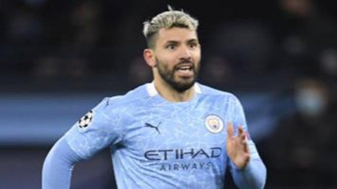 Bomber Manchester City, Sergio Aguero.