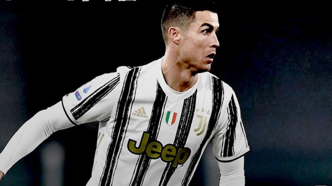 Bintang Juventus, Cristiano Ronaldo.