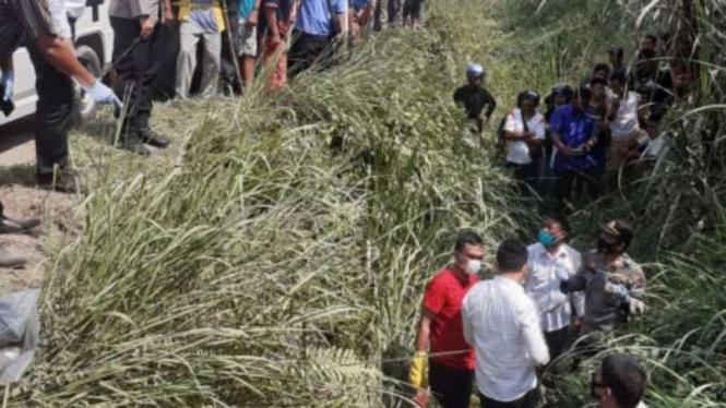 Pasutri ditemukan tewas di Kota Binjai. Diduga, mereka menjadi korban begal.
