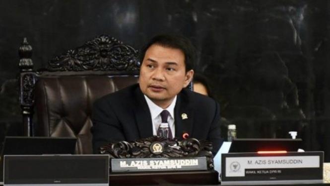 Wakil Ketua DPR RI, Azis Syamsuddin