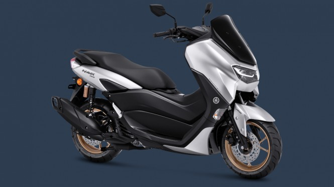 Yamaha NMax Connected ABS warna baru