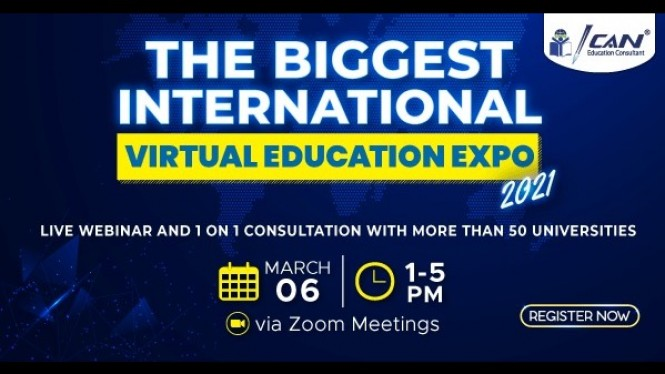 "ICAN ""The Biggest International Education Expo 2021"""