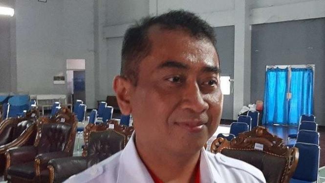 Kepala Kelompok Teknisi BMKG Stasiun Meteorologi Tunggul Wulung Cilacap Teguh W